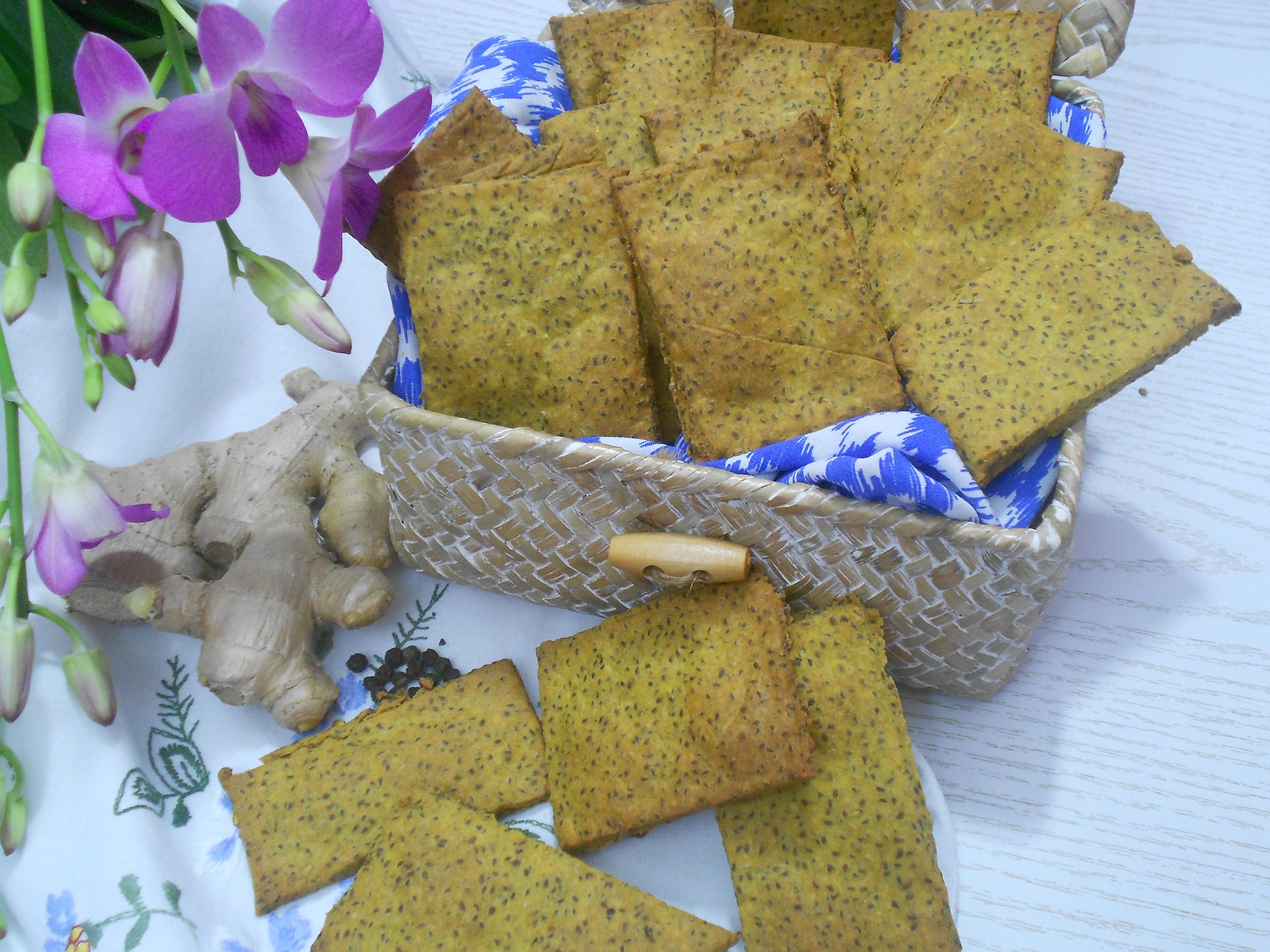 crackers aux épices anti inflammatoires