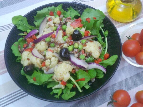salade de chou fleur alimentation saine