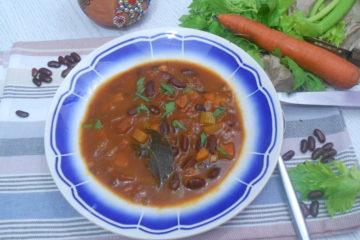 une soupe d'une naturopathe