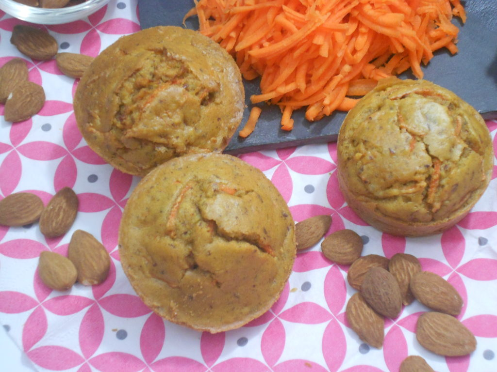 muffin sans gluten aux carottes