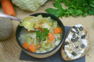 une soupe pour une alimentaion saine