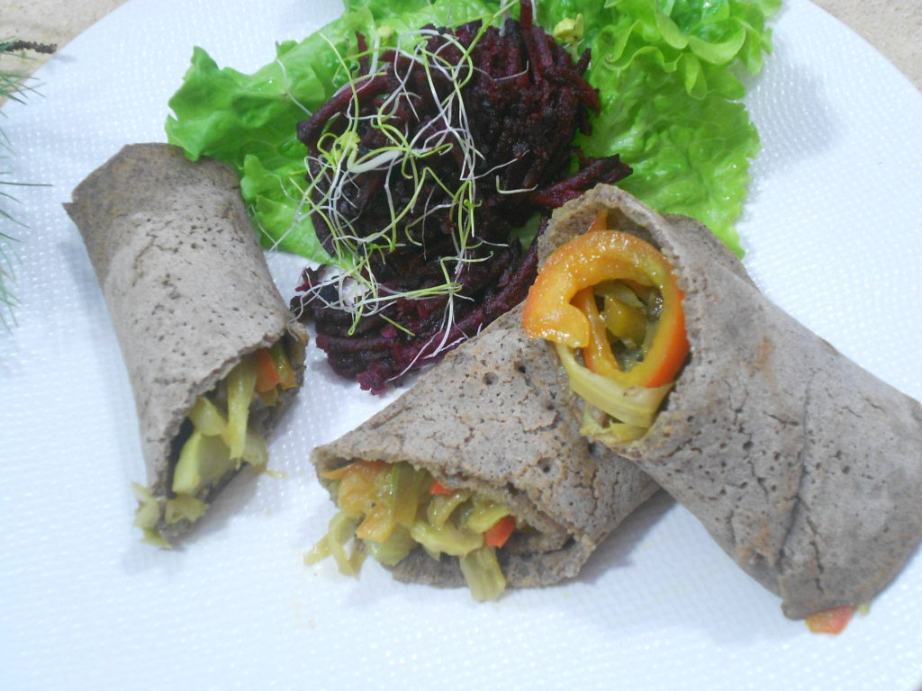 gourmand wrap végétal