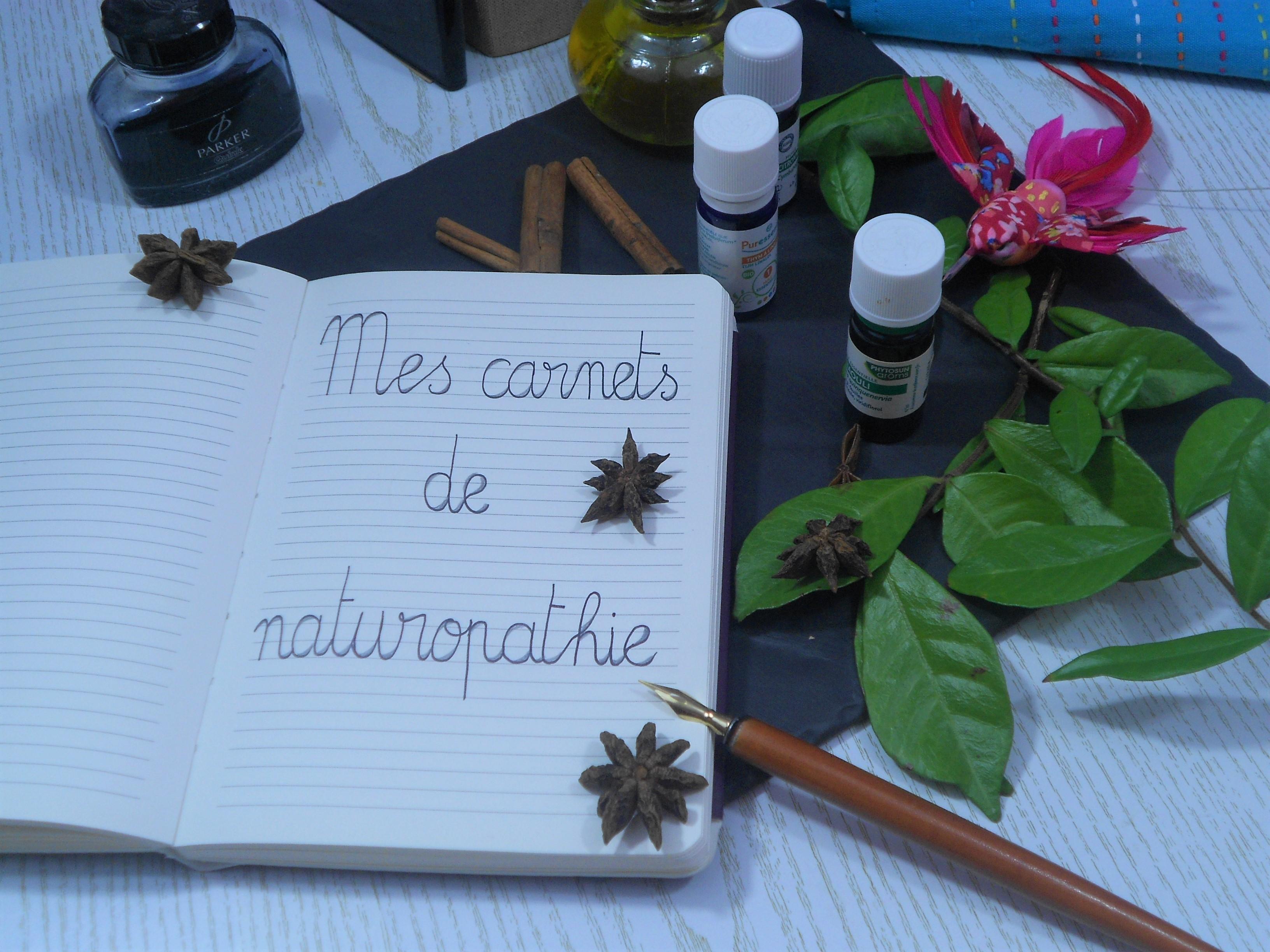 mes carnets de naturopathie