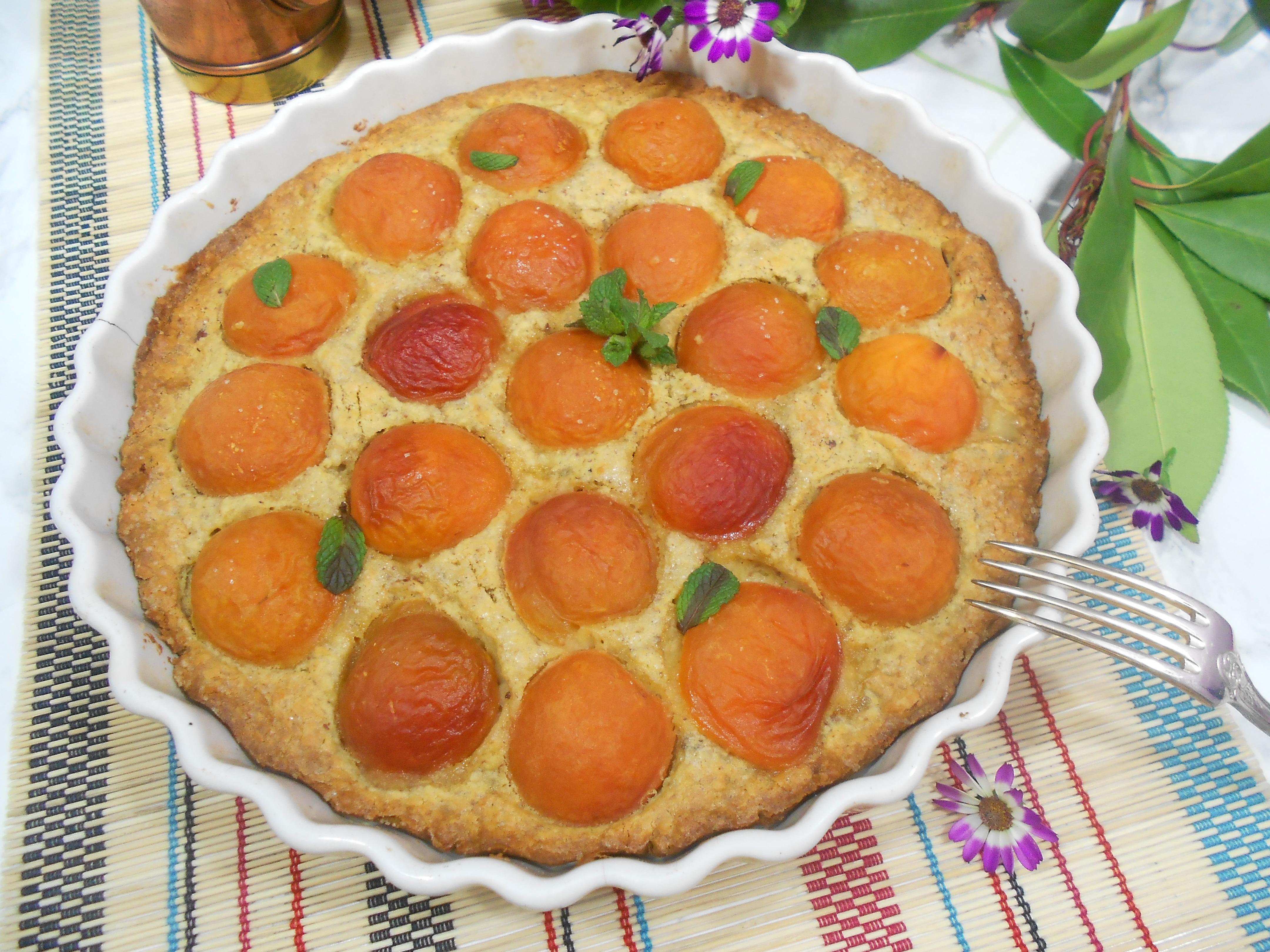 recette saine et gourmande de tatre aux abricots