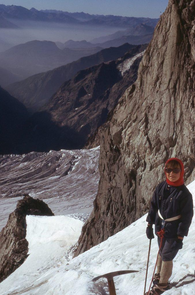 passionnée de montagne