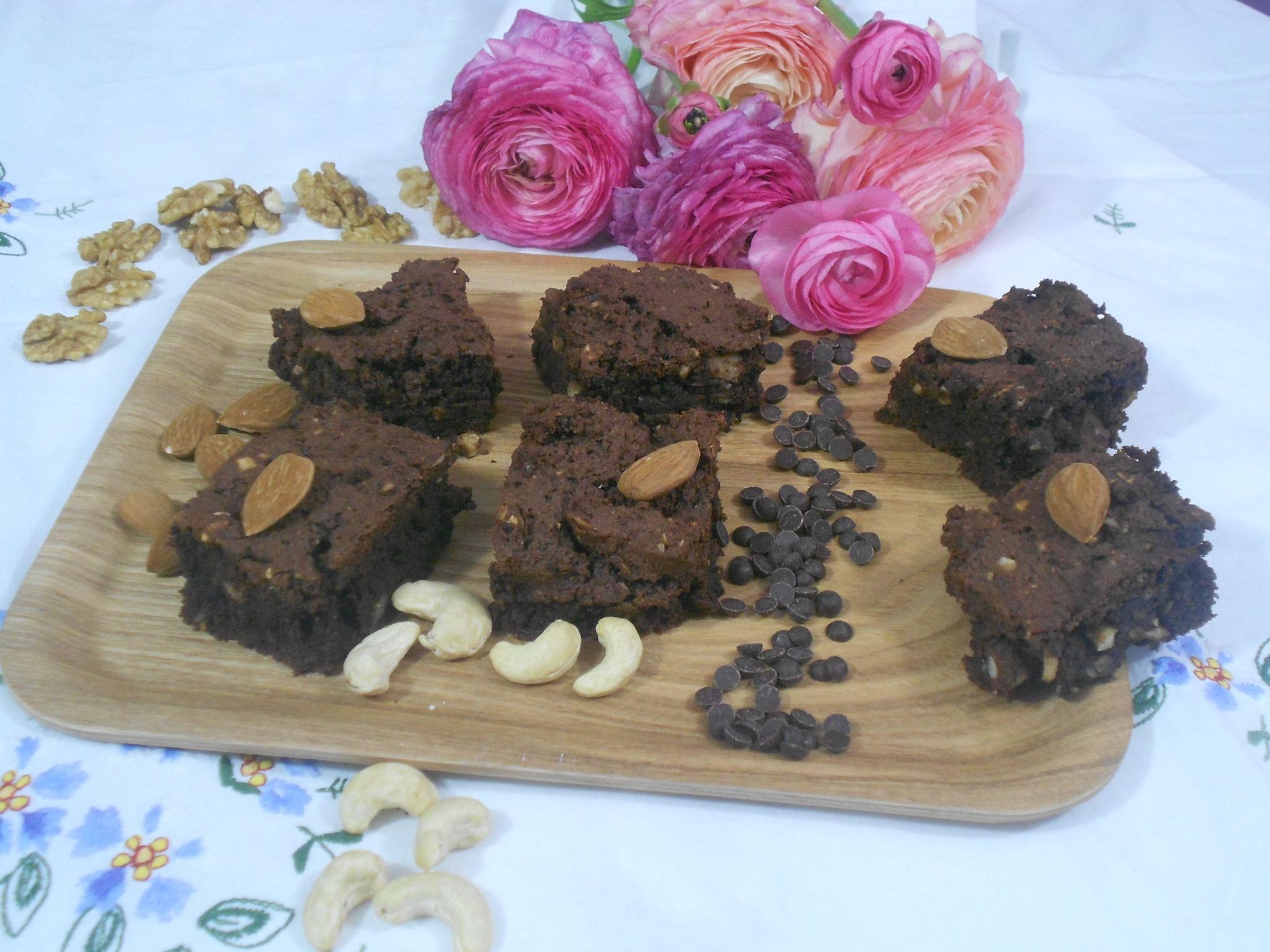 in brownies tout chocolat sans gtutenet sans lactose