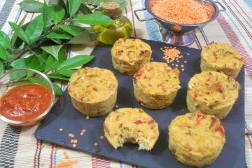 nos meilleurs muffins à la farine de lentilles
