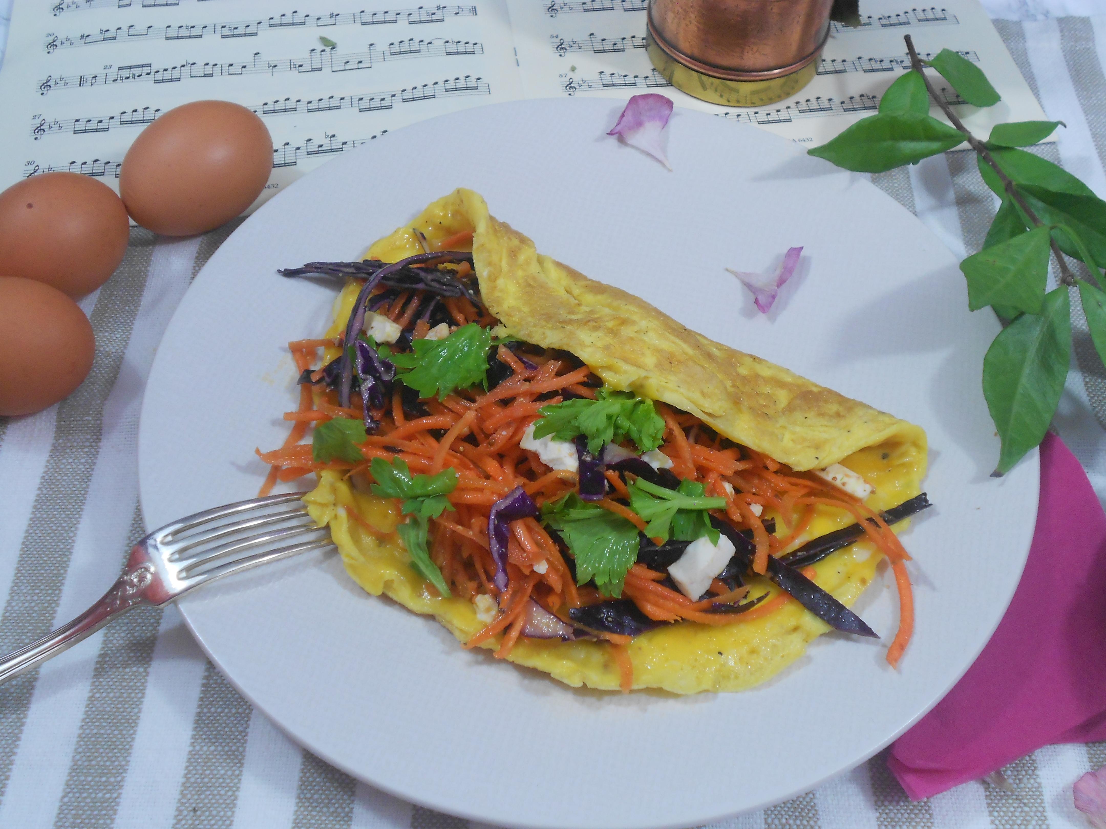 notre meilleure omelette aux légumes aliment riche en protéines