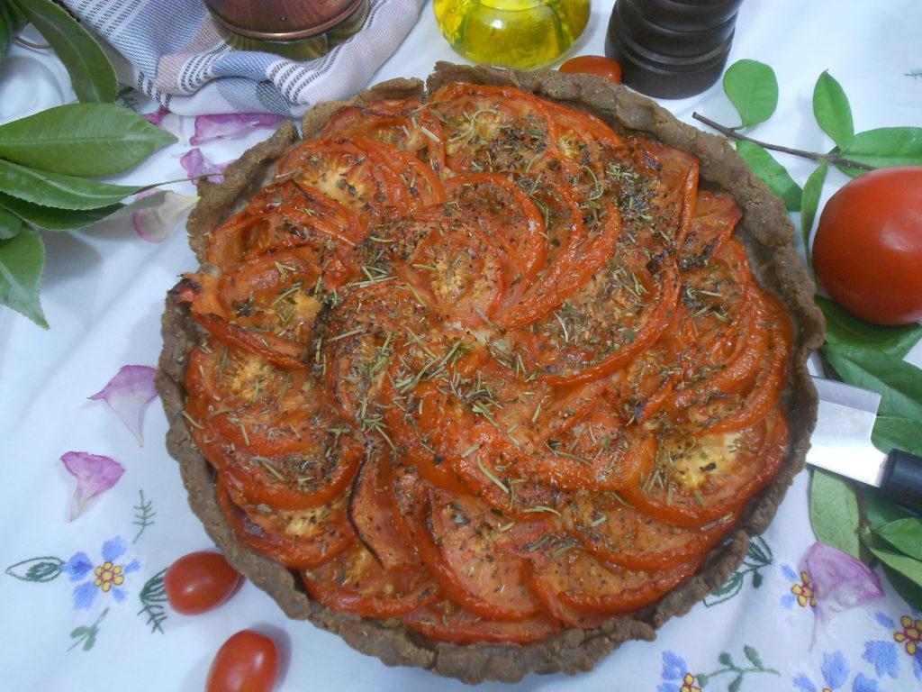 tarte aux tomates recette gourmande minceur