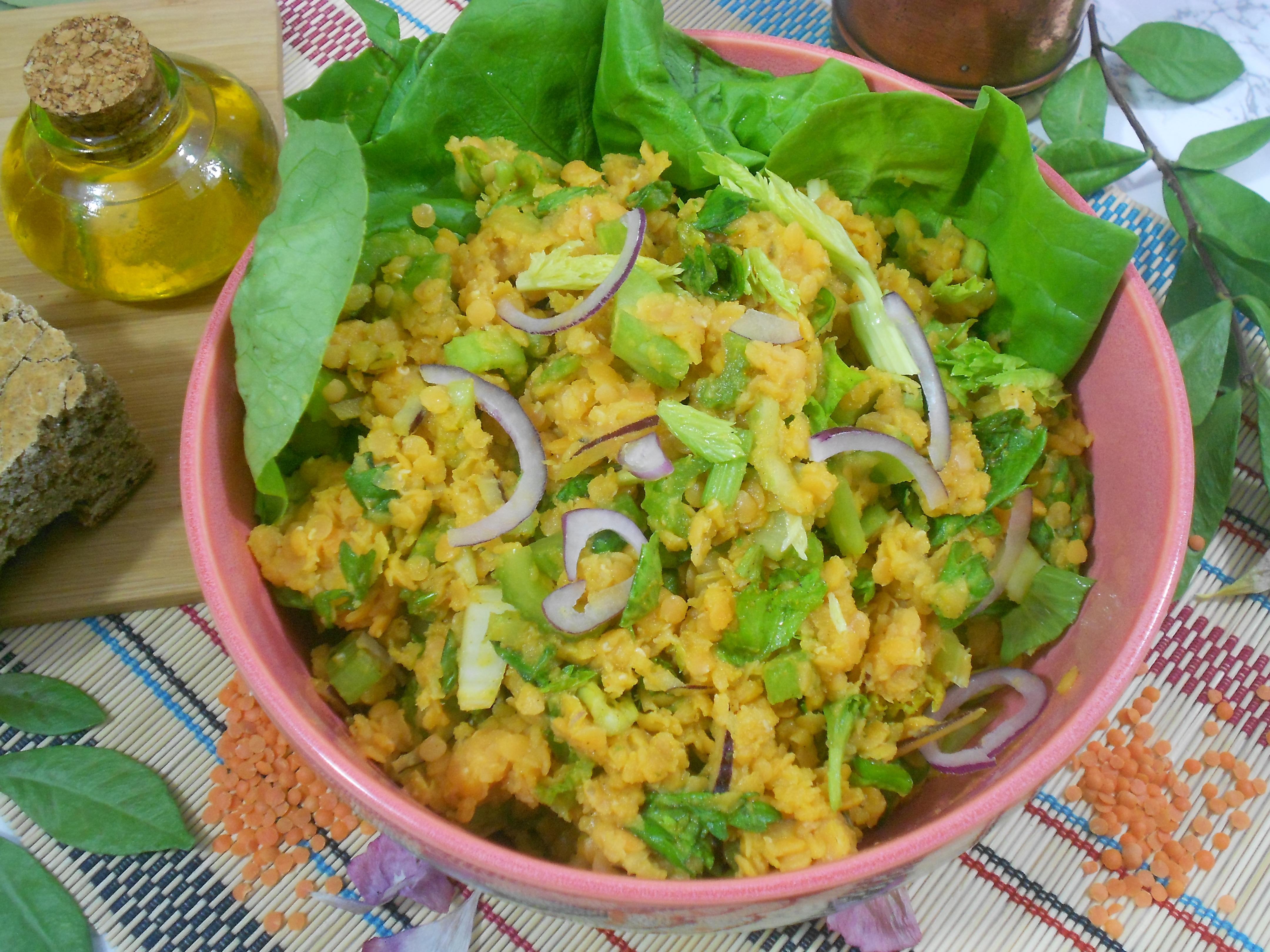 recette saine et gourmande d'une salade repas