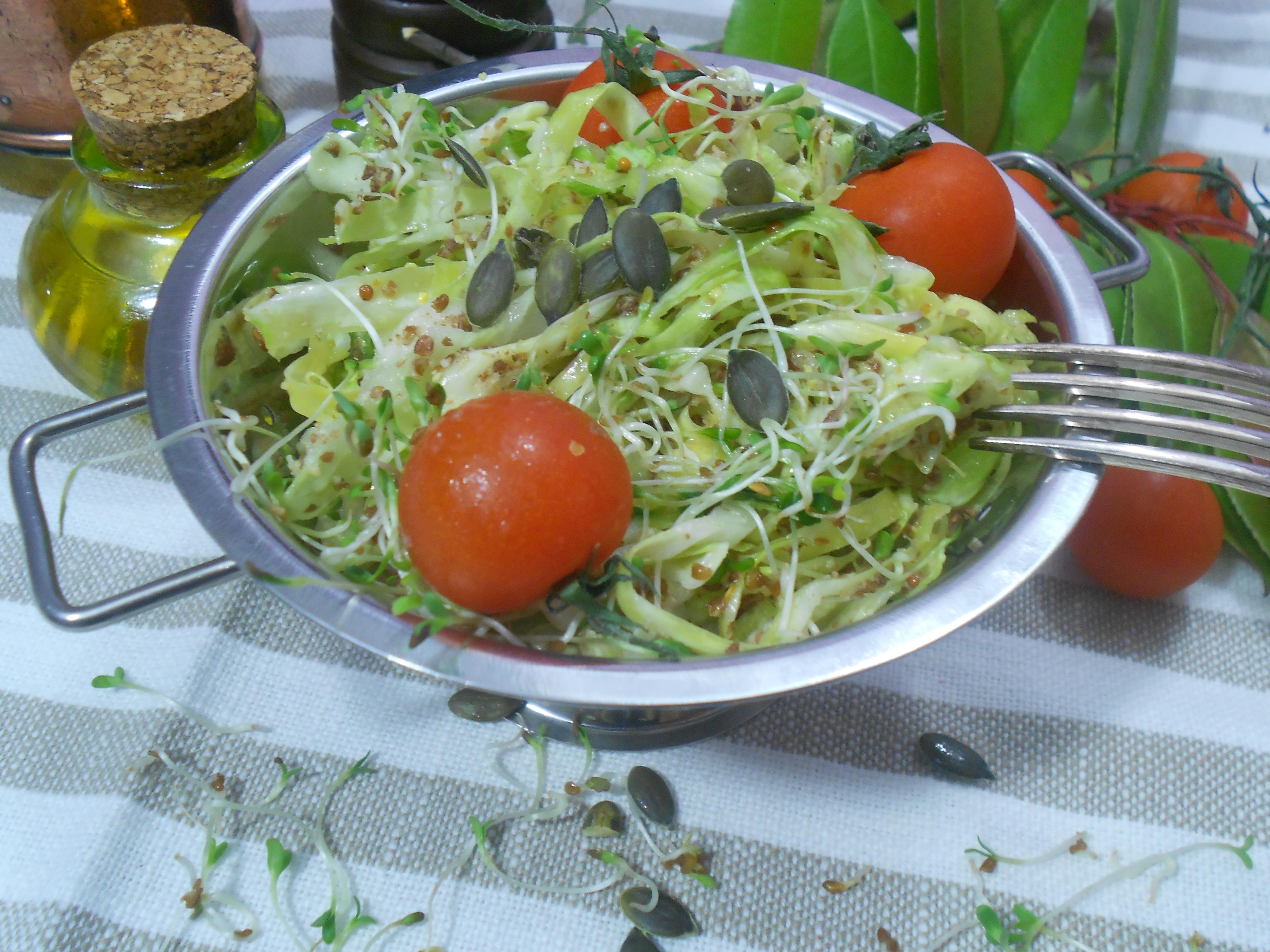 salade de chou anti inflammatoire