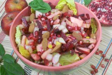 salade anti inflammatoire