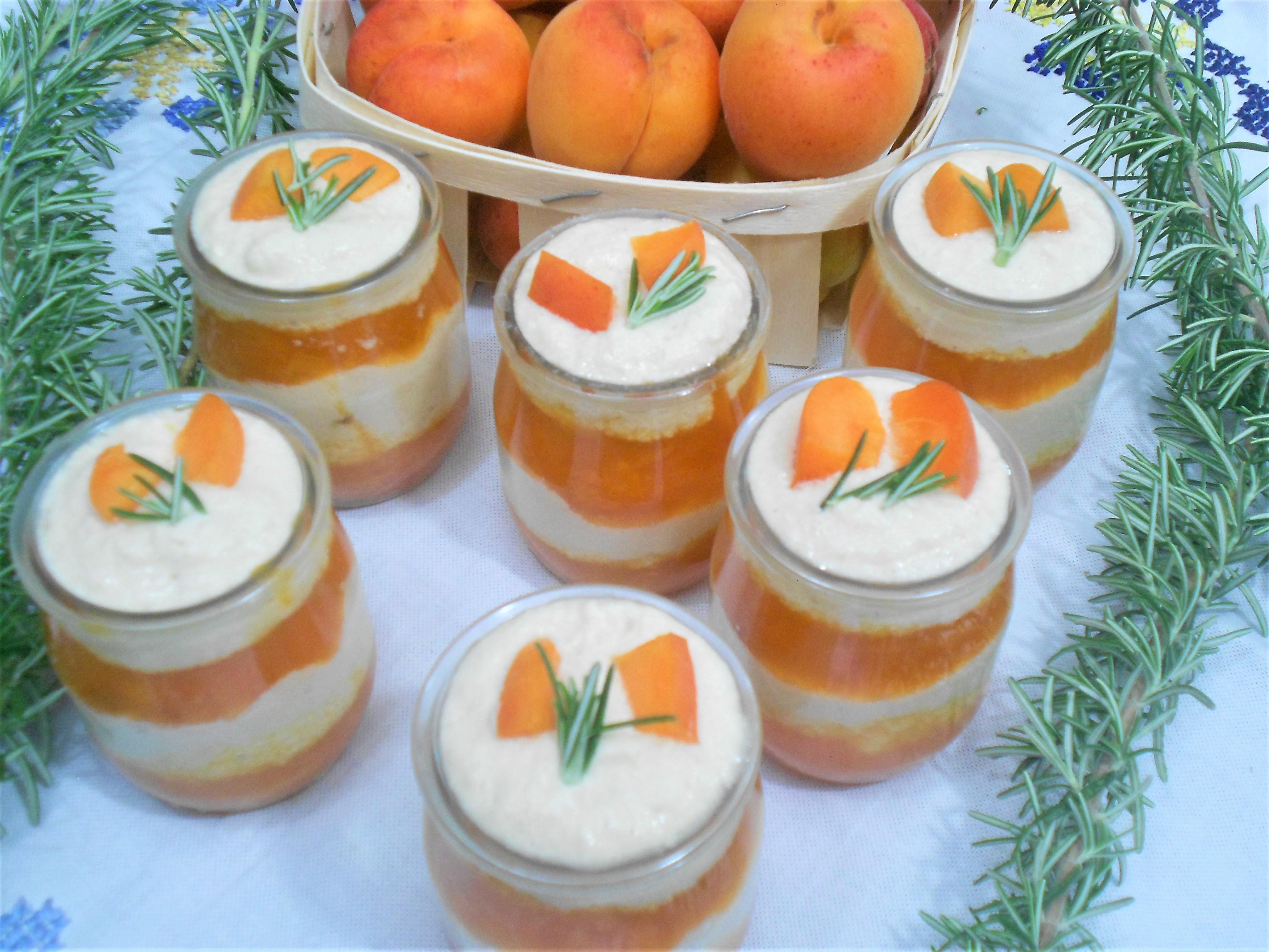 dessert été aux abricots